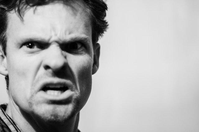angry agrresive