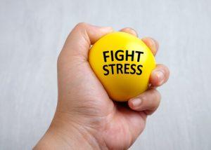 stress ball exercise