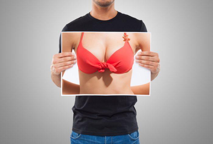 Transgender breast implants
