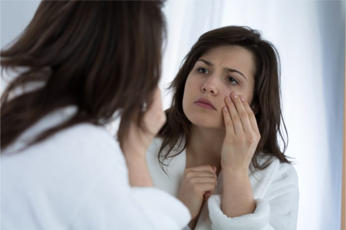 Can stress cause skin problems
