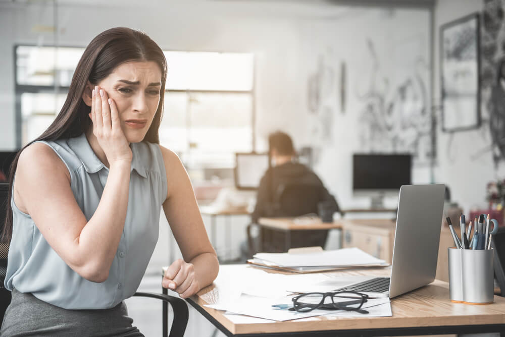can stress cause tooth pain at work