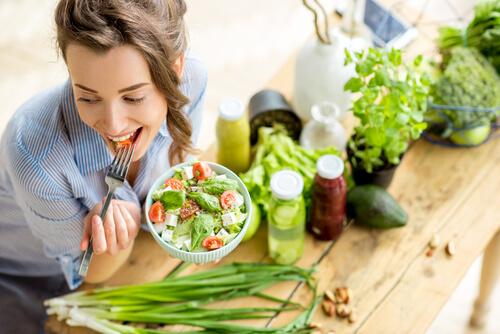 healthy diet stress relief